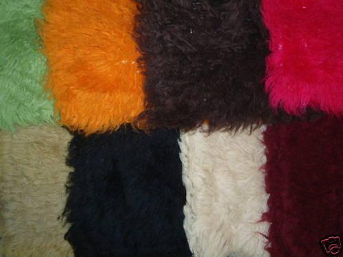 Flokati Pillows 28 Inch Pair Wool Greek Shag Pillowcase Black Friday | EBay