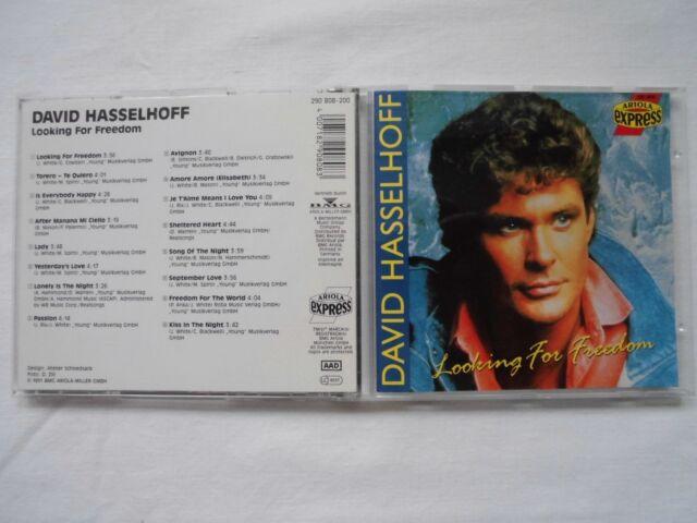 David Hasselhof - Looking for Freedom (1991) ,16 Tracks