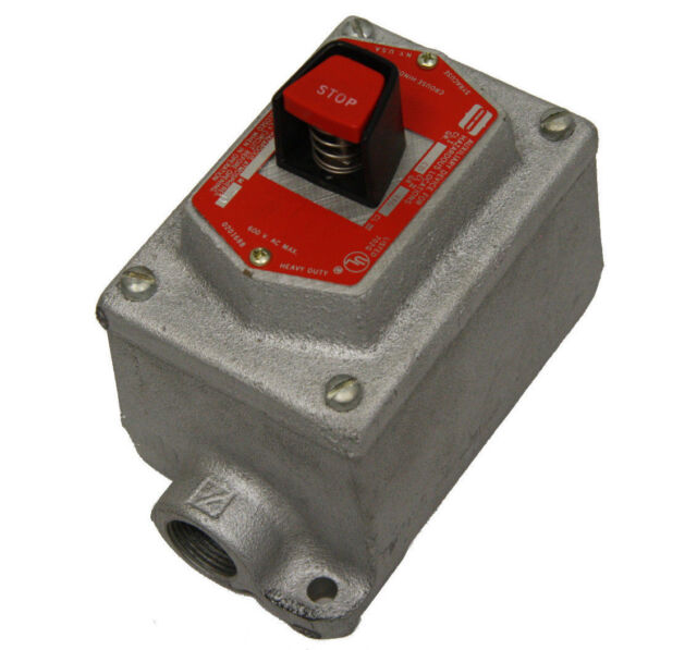 Crouse Hinds Efs2184 Explosion Proof Pushbutton Station