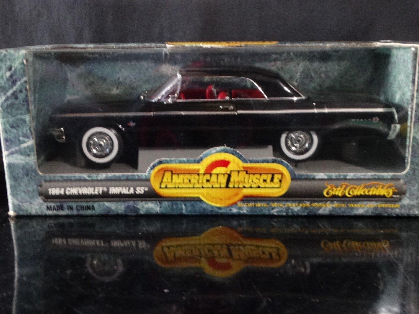 Ertl American Muscle 1 18 1964 Chevrolet Impala SS #7837 | eBay