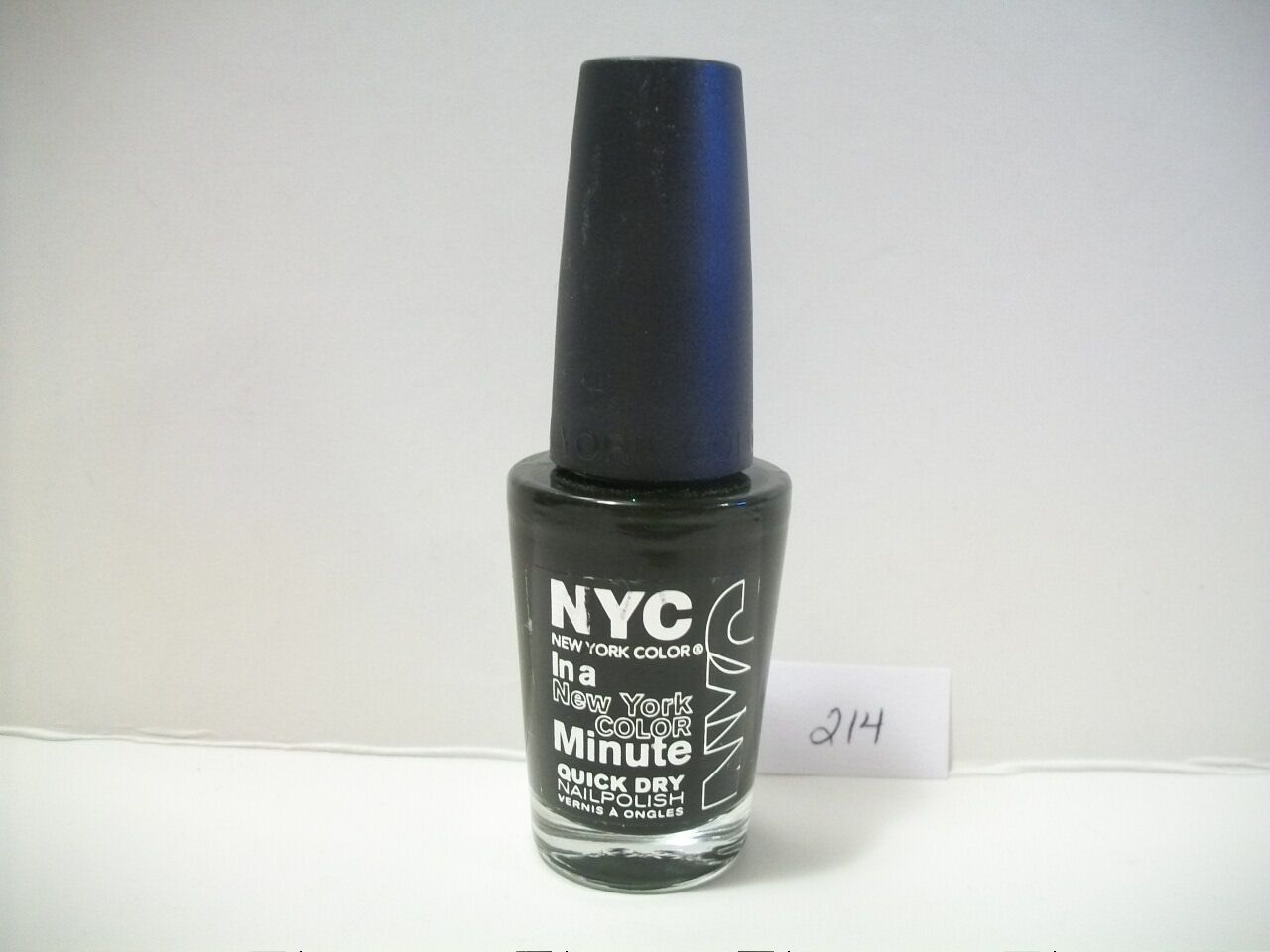 NYC Flat Iron Green Nail Polish York Color 214 Lacquer in a Minute ...