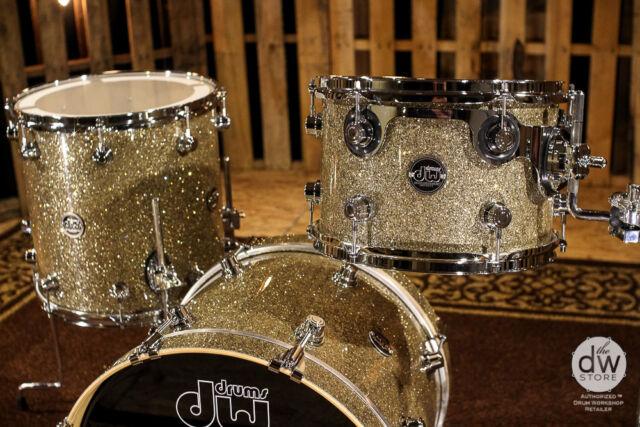 dw drums performance series ginger glitter 18x22 shop. Black Bedroom Furniture Sets. Home Design Ideas