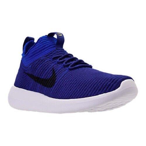 3e3bad192b9 ... real nike roshe two flyknit v2 deep blue obsidian racer men sneakers  918263 400 11.5 ebay