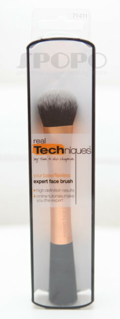 Real Techniques by Sam & Nic Chapman Expert Face Brush #1411 100% Authentic