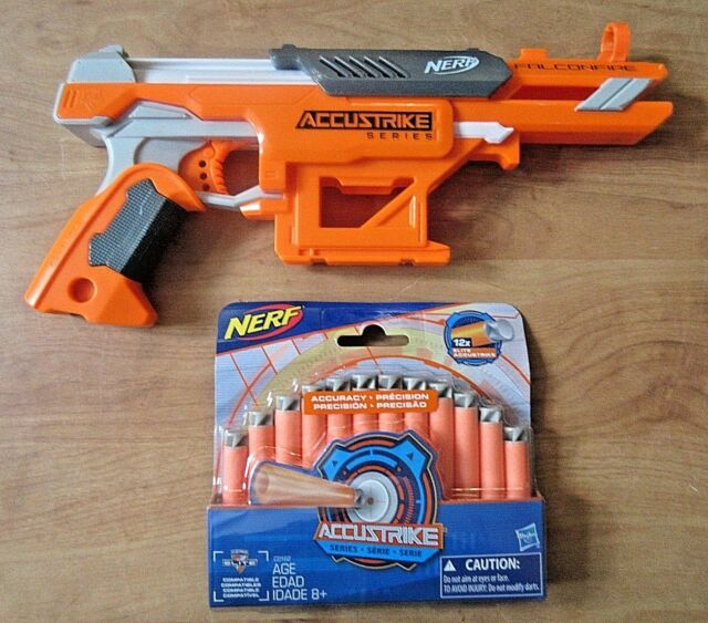 Nerf AccuStrike Series FalconFire with 12 Darts