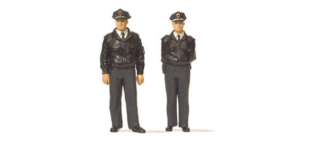 Preiser 65364 Spur O Polizisten stehend 2 Figuren