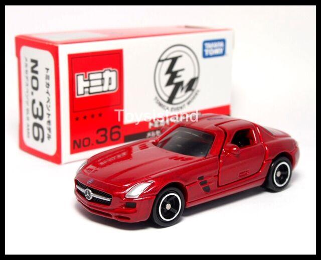 Tomy tomica 91 mercedes benz sls amg 1 65 diecast car ebay for Mercedes benz sls amg toy car