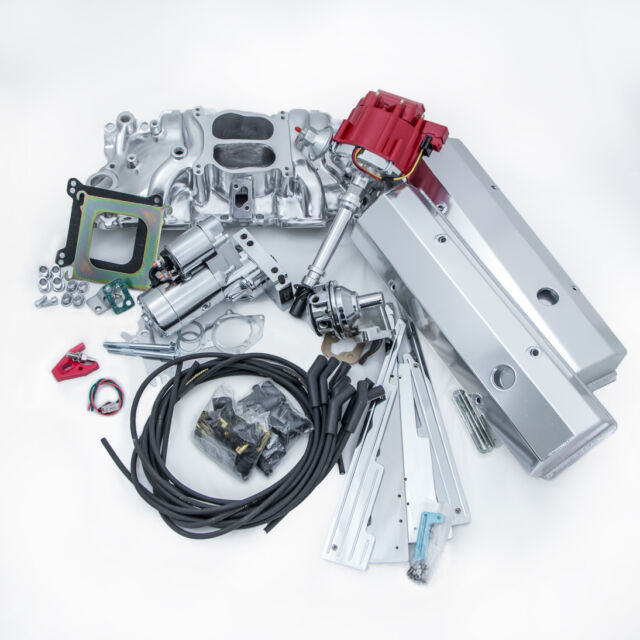 Small Block 350 Chevy Super Deluxe Engine Dress up Kit Intake ...