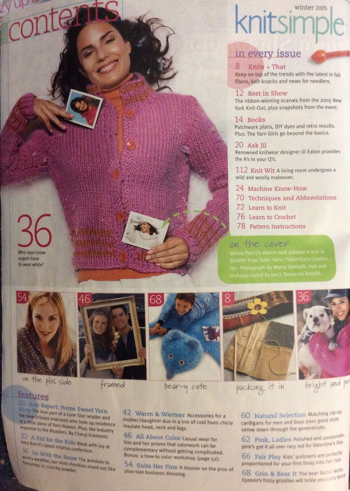 Vogue knit simple knitting crochet patterns hat scarf mitten leg pre owned lowest price bankloansurffo Images