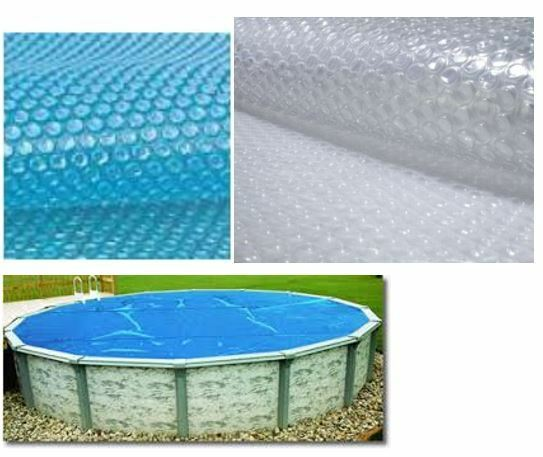 Above Ground Pool Solar Covers With Blue Wave 21ft Round Solar Blanket For Above Ground Pools 12mil Clear Ebay