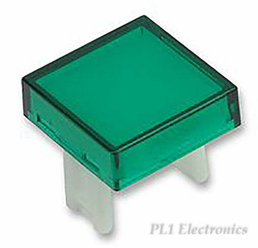 EAO   31-953.5   LENS, SQUARE, 18MM, GREEN, 31 SERIES Price for 3