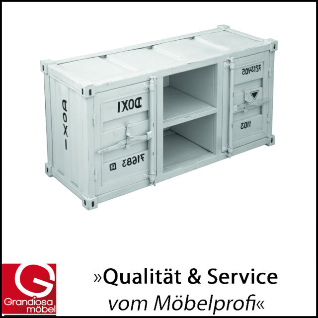 Container schrank metall elegant container wei with for Schrank container optik