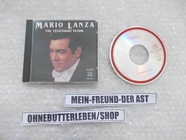 CD Ethno Mario Lanza - The Legendary Tenor (19 Song) RCA RED SEAL