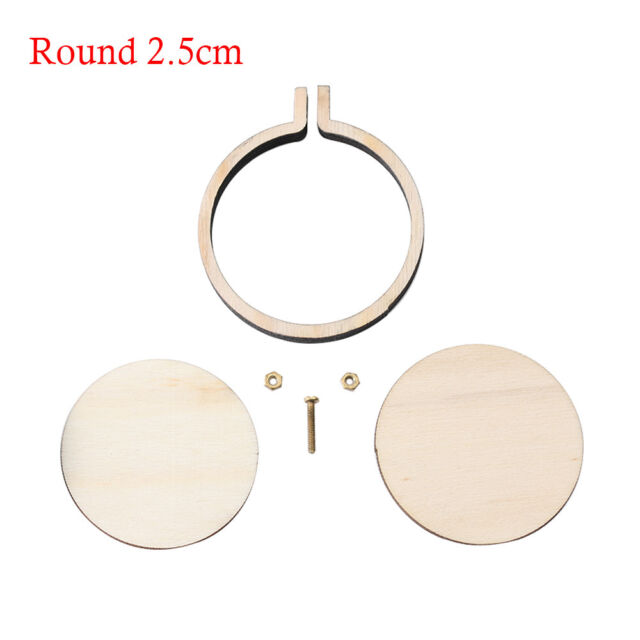 d44628d6dd Wooden Frame Hand Cross Stitching Embroidery Hoop Framing Making ...