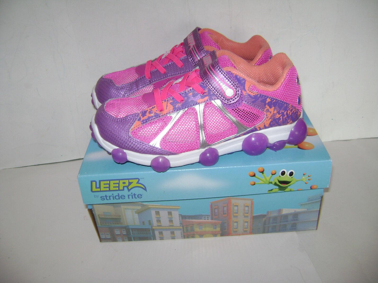 Stride Rite Leepz Light up Sneaker Kids Girls Shoes Size 2 5 M