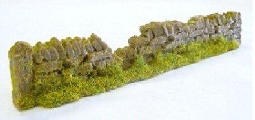 Javis PW1LBDAM Random Damaged Light Brown Dry Stone Walling 134mm '00' Gauge 1st