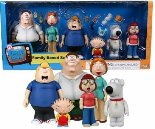 Family Guy Peters Toy Design : Family guy boxed set figures misb mib peter chris stewie