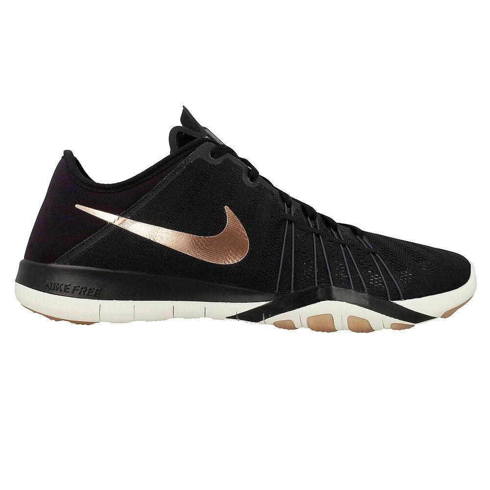 Nike Free TR 6  Black/Metallic Red Bronze 833413-005 Wmn Sz 9.5