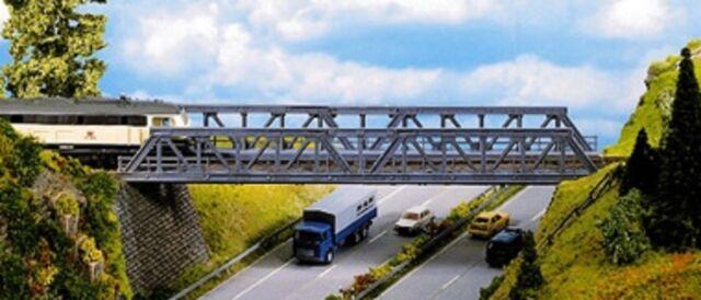 NOCH 21310 H0, Gitter-Brücke, Stahlträgerbrücke, 360 mm lang, Bausatz, Neu