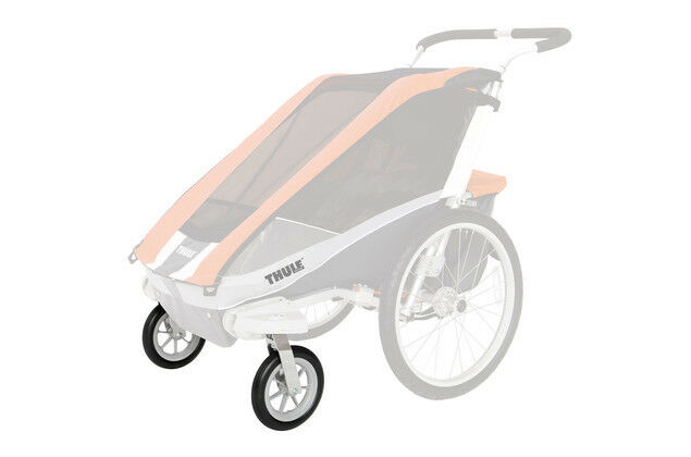 Thule / Chariot Strolling Kit - Buggy-Set mit zwei schwenkbaren 8 Zoll Rädern