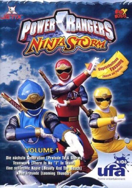 DVD - Power Rangers - Ninja Storm: Volume 1 /  #9060