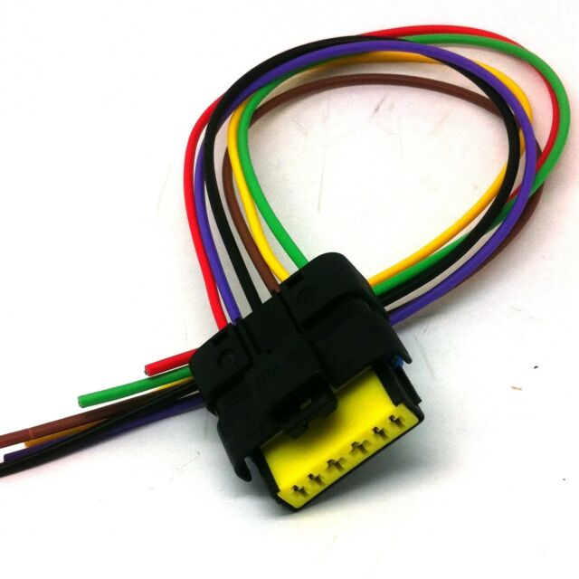 ford peugeot citroen maf c air mass sensor connector wiring harness rh ebay com Wire Plug Connectors Wire Connector Kit