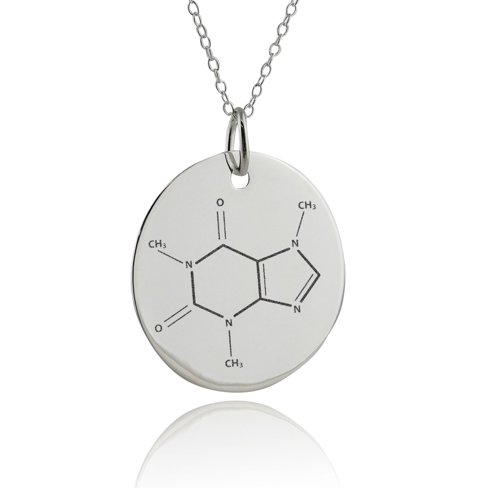 the pendant ladies necklace with sterling products link an inch bay real silver football by