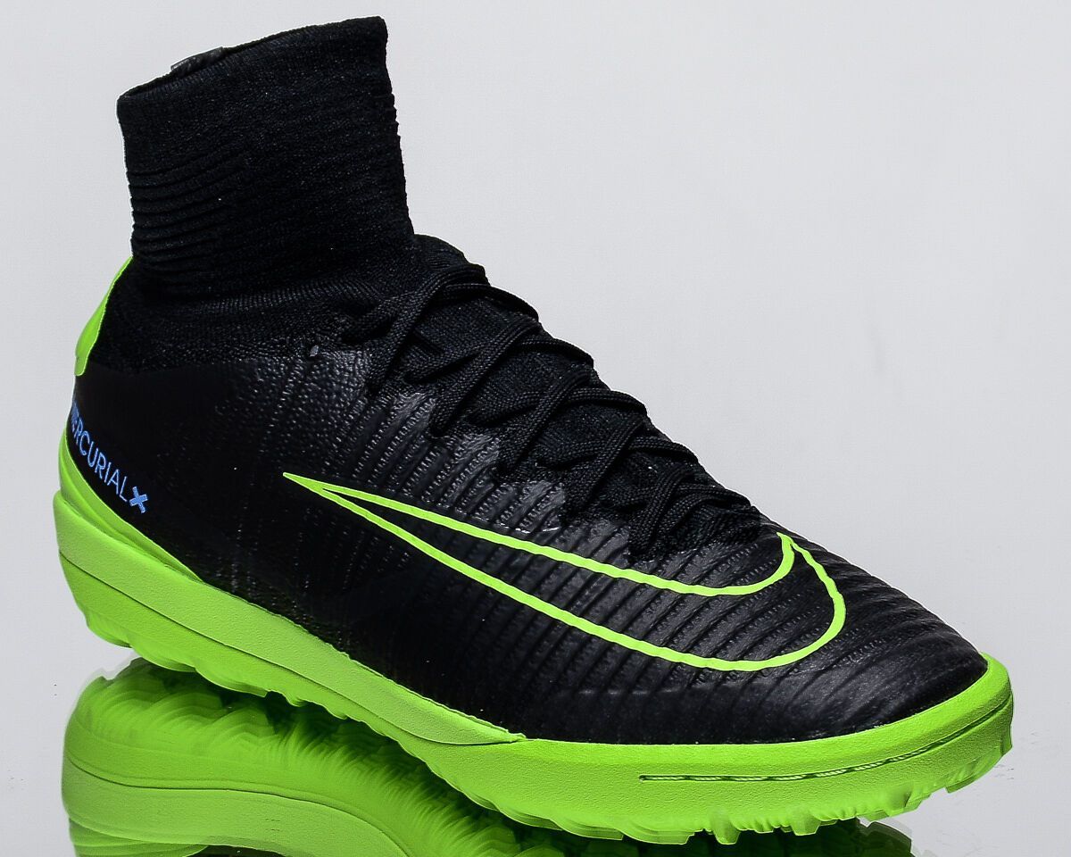 Nike MercurialX Proximo II TF 2 men soccer shoes football NEW black 831977