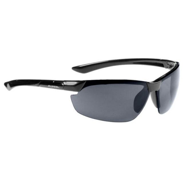 Alpina Fahrradbrille Sportbrille Sonnenbrille Brille JALIX silver-black owrtWDw