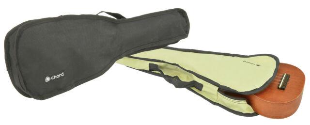 UKULELE GIG BAGS -CHORD UB21- IN BLACK OR BEIGE