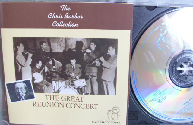 Chris Barber- Great Reunion Concert- BELLAPHON 89- Made in W.Germany WIE NEU