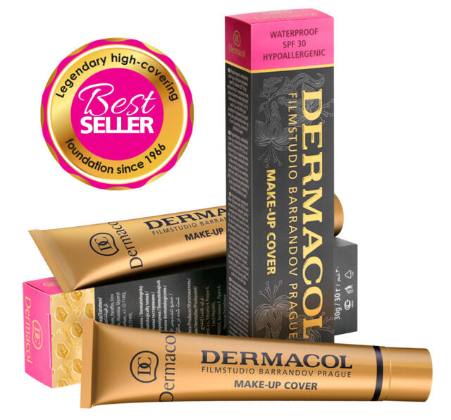 Dermacol Cover Foundation 30g- PLEASE SEE DESCRIPTION TO CHECK FOR FAKE DERMACOL