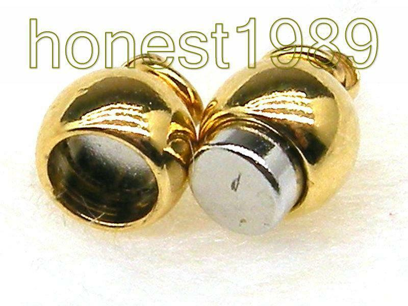 3 Pieces 14k Gold Filled Magnetic Jewelry Clasp for Necklace
