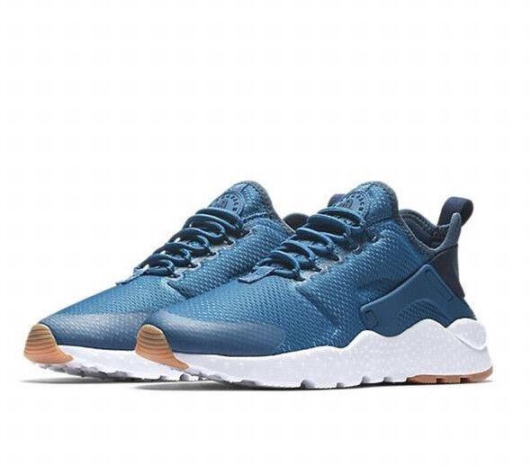 nike air huarache donna correre ultra  bianco  azzurro di scarpe da corsa, sz