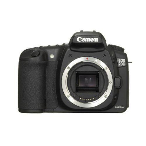 Canon EOS 20D 8.2MP Digital SLR Camera - Black (Body Only) 9442A002