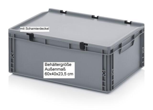 60x40x23,5 cm Behälter Kiste Box lebensmittelecht für Camping Outdoor Sport K230