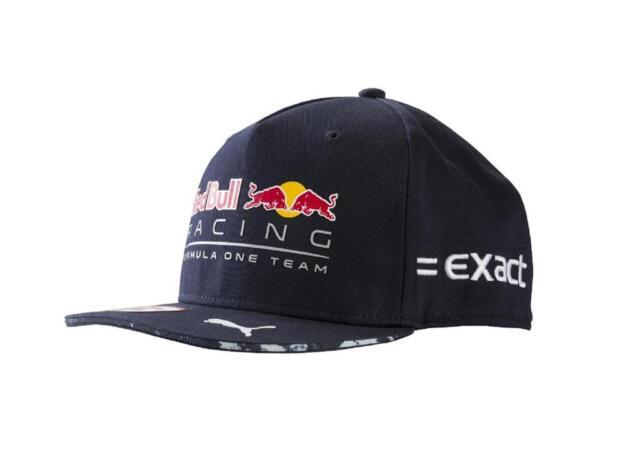 red bull racing f1 2017 max verstappen cap hat ebay. Black Bedroom Furniture Sets. Home Design Ideas