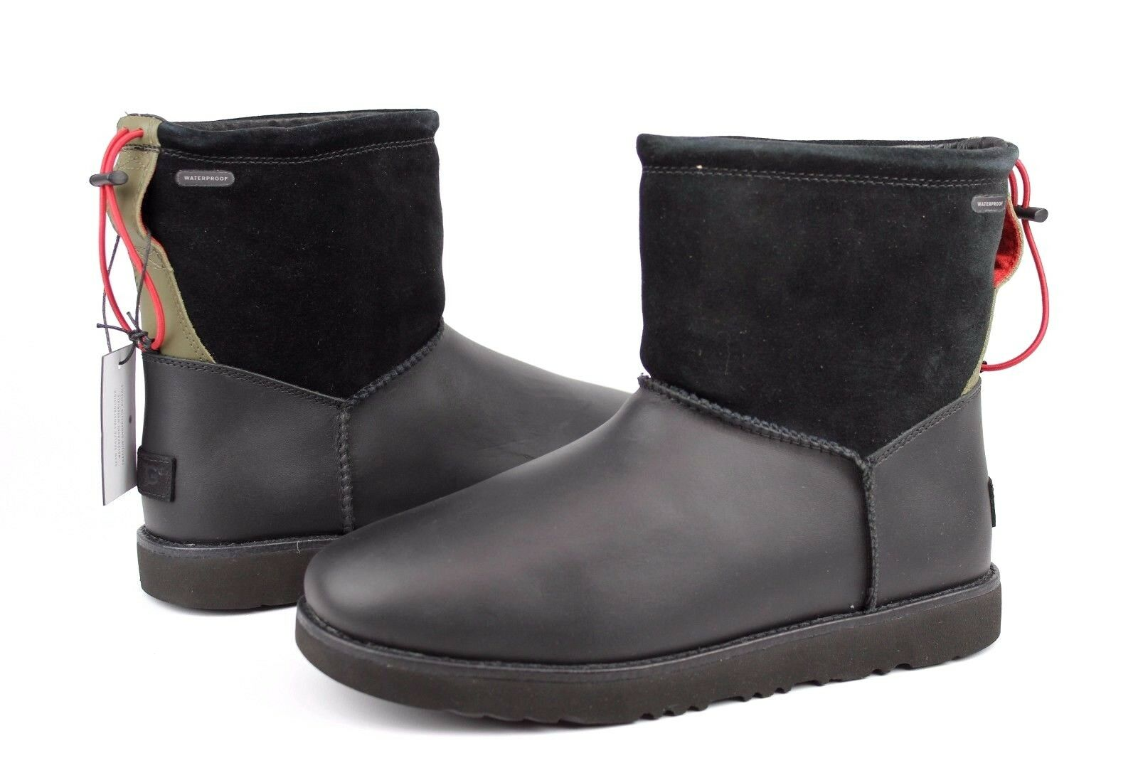 Ugg M Classic Toggle Waterproof Negro-1017229 CNPbZYX