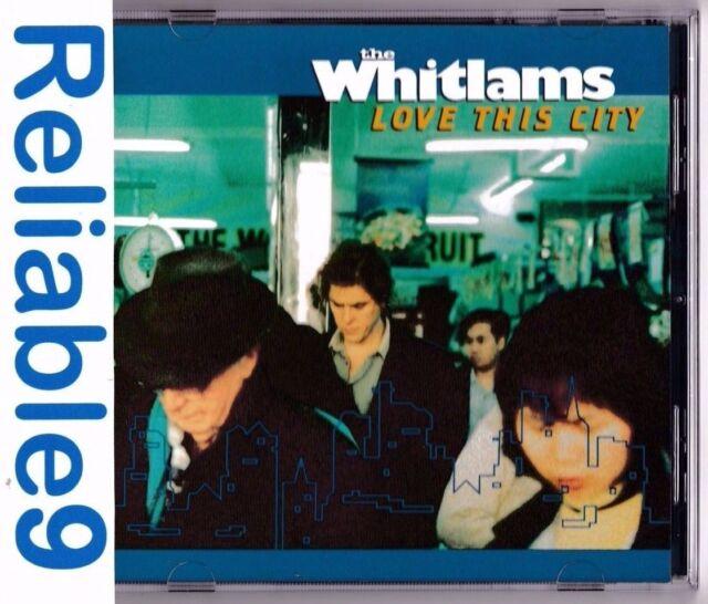 The Whitlams - Love this City CD Original 14tracks-1999 Warner-Made in Australia