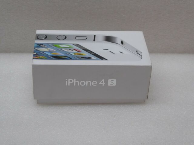 New Apple iPhone 4S White 16GB MC924LL/A A1387 AT&T SmatPhone