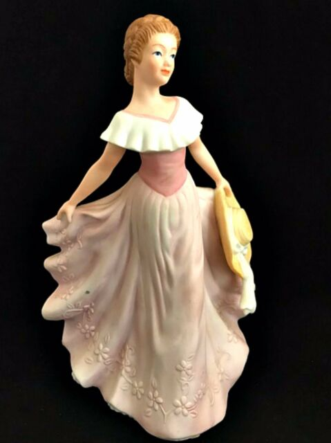 Home interiors gifts grace figurine 2001 masterpiece porcelain homco 11293