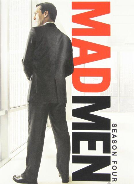 "Mad Men: Season Four 4 ""NEW"" (4-Disc Set) [J01A4]"