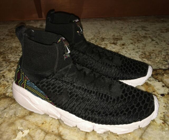 NEW Mens 10.5 NIKE Air Footscape Magista Flyknit BHM Black History Month  Shoes
