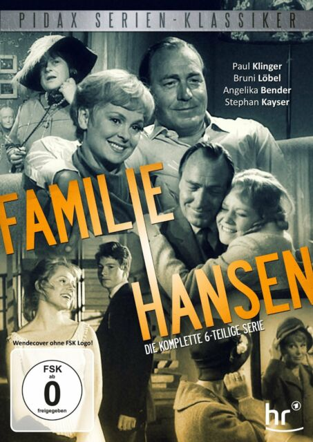 Familie Hansen * DVD 6-teilige Serie Paul Klinger Bruni Löbel Pidax Neu