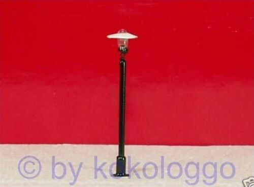 S757 - Set 10 Stück LED Straßenlampen 1-flammig 4,5cm Lampen für 12-19V