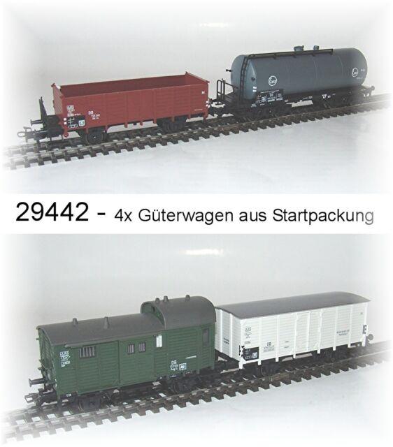 Aus Märklin 29442   Güterwagenset 4-teilig der DB  Neu in OVP