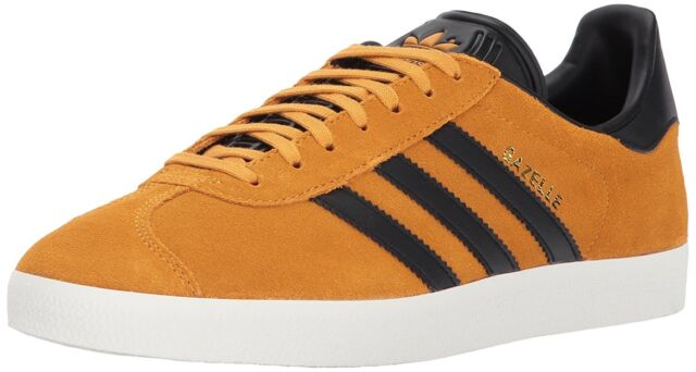 Hombre adidas Originals Gazelle bz0035 amarillo negro oro zapatos de tamaño
