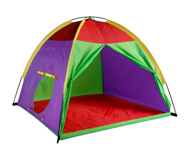 Large Kids Play Tent Fits 4 Persons Giant Party Indoor Outdoor ...