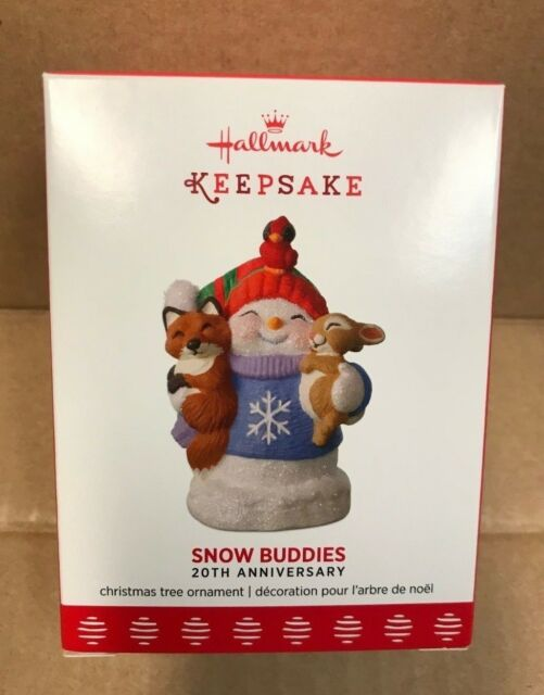 2017 Hallmark Keepsake Ornament Snow Buds 20th Anniversary New