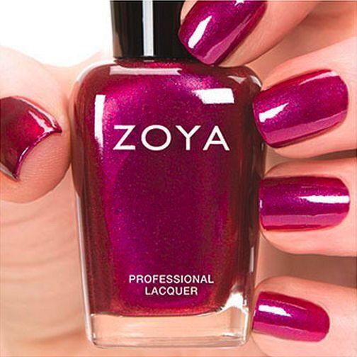 Zoya Zp692 Mason Red Violet Pink Metallic Nail Polish Lacquer